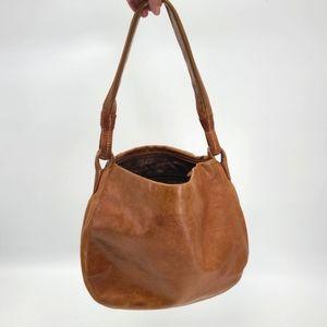 Dereck Alexander Shoulder Hobo Leather Bag